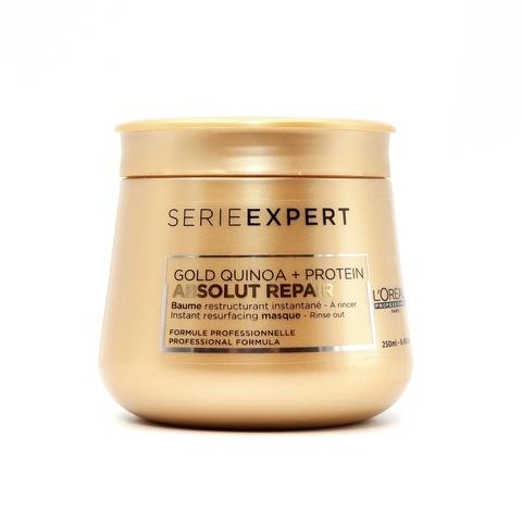 Маска для восстановления волос, L'Оreal Absolut Repair Gold Quinoa + Protein, 250 мл.