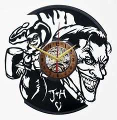 Харли Квинн и Джокер Часы из Пластинки — Парочка злодеев