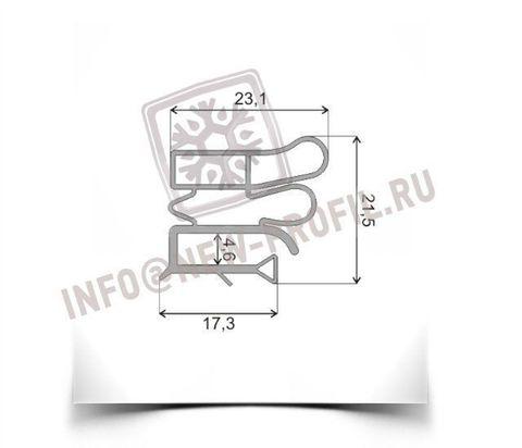 Уплотнитель  для холодильника Vestfrost VB301 M1 (холодильная камера)Размер 99*57 см Профиль 012