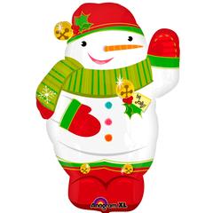 Снеговик забавный