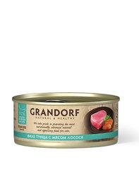 Grandorf консервы для кошек (филе тунца с мясом лосося) 70г
