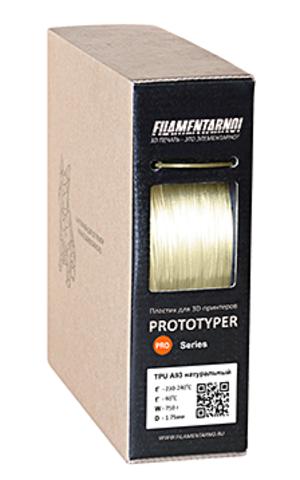 Пластик Filamentarno! Pro TPU A80 натуральный. 750 гр.