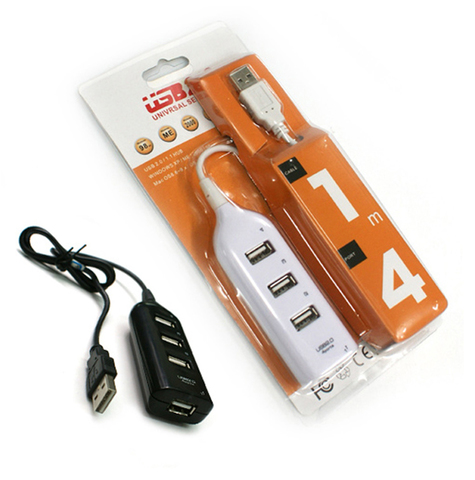 USB HUB HI-SPEED НА 4 ПОРТА