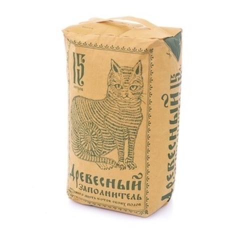 NoName - древесный наполнитель, 25 л (~9.5кг) бумажный пакет