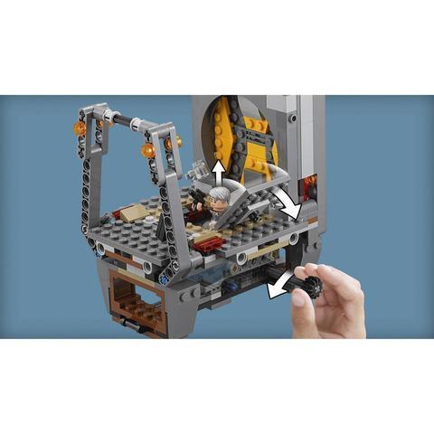 LEGO Star Wars: Побег Рафтара 75180 — Rathtar Escape — Лего Стар варз Звёздные войны