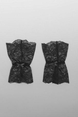 P0076 Перчатки БАЗА - LAETE One size чёрный
