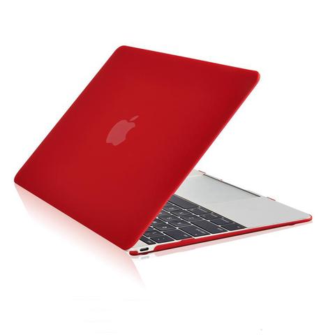Накладка пластик MacBook Pro Retina 13.3 (2020) /matte red/ DDC
