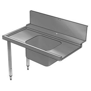 фото 1 Стол для грязной посуды Electrolux BHHPTB12R 865308 на profcook.ru