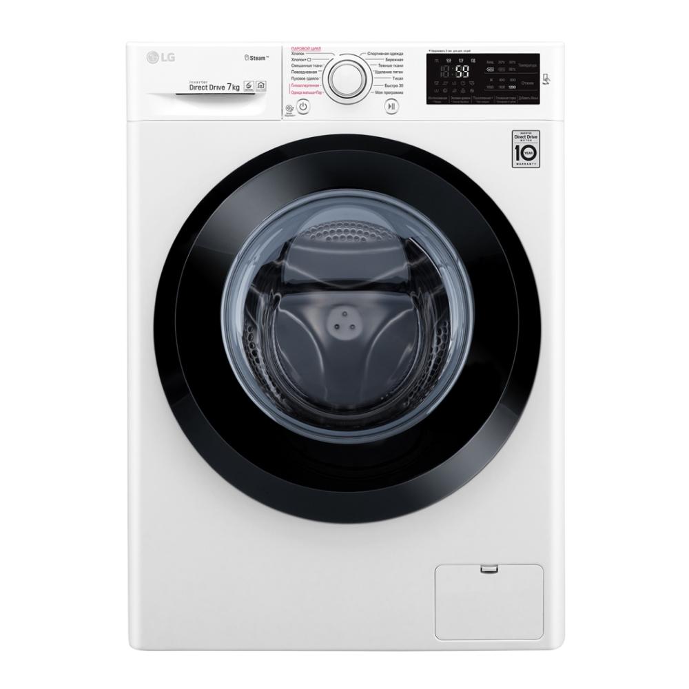 Узкая стиральная машина LG с функцией пара Steam F2J5HS6W фото