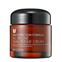 Крем для лица с 92% экстрактом улитки Mizon All in One Snail Repair Cream