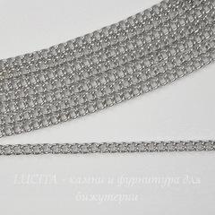 Цепь (цвет - платина), звено 2х1,5 мм