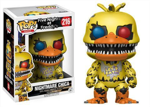Фигурка Funko POP! Vinyl: Games: FNAF: Nightmare Chica 13734
