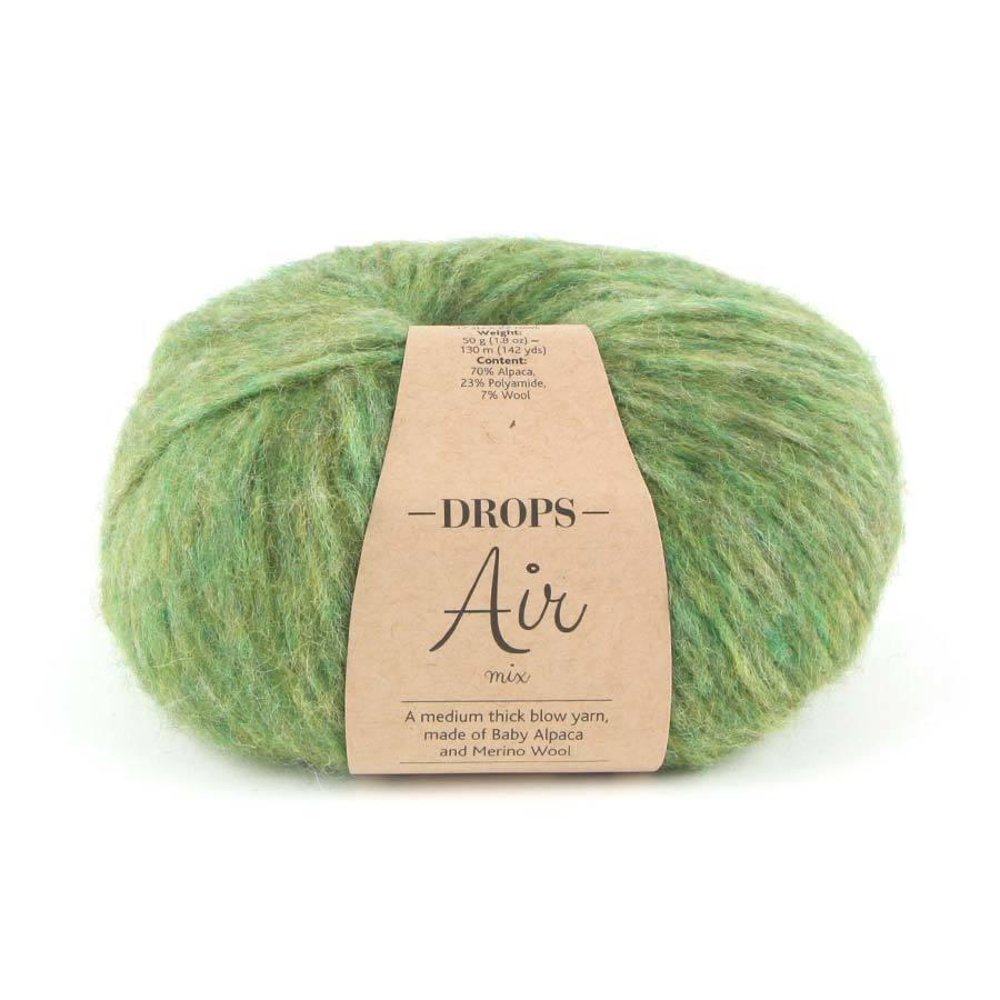 Пряжа Drops Air 12 оливковый меланж