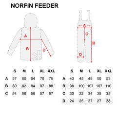 Костюм NORFIN Feeder Concept, размер L