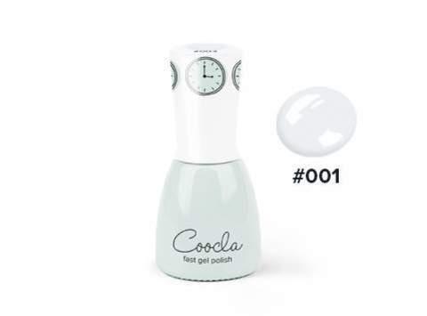 CIN-001 Гель-лак для покрытия ногтей Fast gel polish #001 White & Fluffy