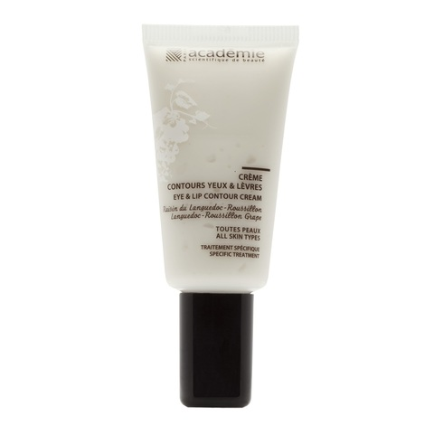 Academie Aromatherapie Eye & Lip Contour Cream «Languedoc Roussillon Grape»