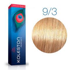 Wella Professional KOLESTON PERFECT 9/3 (Очень светлый блонд, золотистый) - Краска для волос