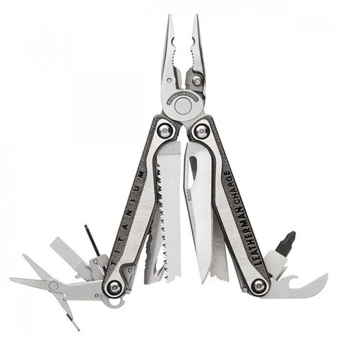 Мультитул Leatherman Charge Plus TTi, 19 функций, нейлоновый чехол (832528) - Multitool-Leatherman.Ru