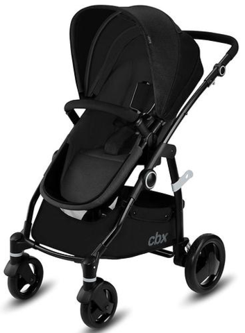 Коляска 2 в 1 Cybex CBX Leotie Pure Smoky Anthracite