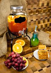 Диспенсер для напитков на подставке «Yorkshire», 4 литра, с меловой вставкой, фото 6