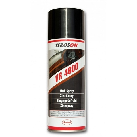 TEROSON VR 4600 Спрей цинковый светлый, защитное покрытие (холодное цинкование)