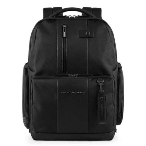 Рюкзак Piquadro Brief (CA4532BR/N) черный кожа/ткань