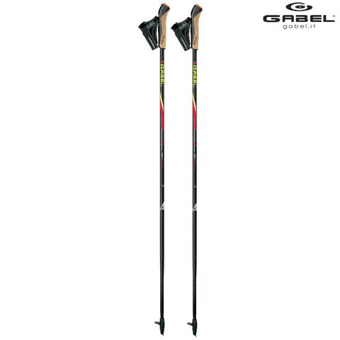 Скандинавские палки Gabel Premium Snake HS Carbon 100% FX-75 2020 Италия