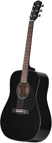 FENDER CD-60 DREAD V3 DS BLK WN акустическая гитара
