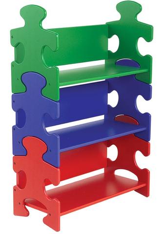 KidKraft Система хранения Пазл яркий Puzzle Primary 14400_KE