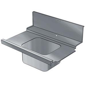 фото 1 Стол для грязной посуды Electrolux BHHPIB10L 865318 на profcook.ru