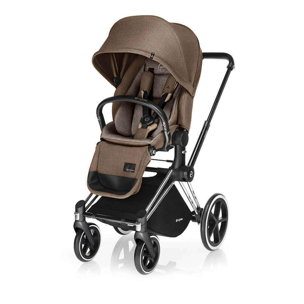 Цвета Cybex Priam прогулочная Прогулочная коляска Cybex Priam Lux Cashmere Beige шасси Chrome/Trekking cybex-priam-cashmere-beige-lux-seat.jpg