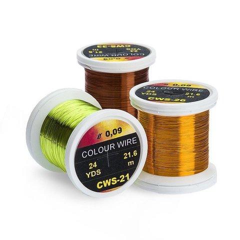 HENDS Проволока металлическая Color Wire 0,09 25 Yards