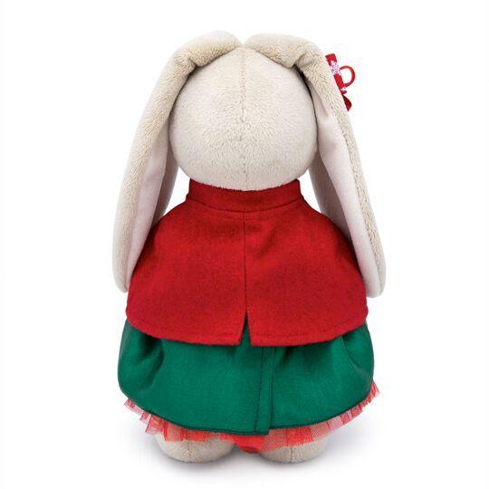 Зайка Ми в красном жакете и зеленой юбке