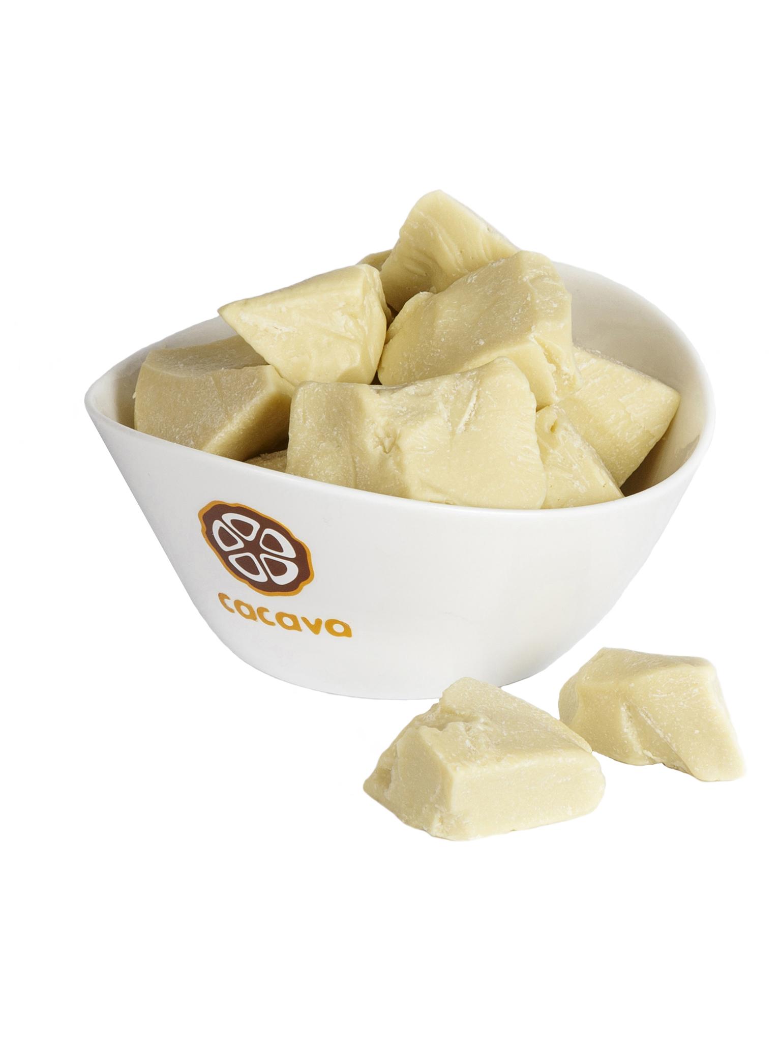 Какао-масло рафинированное, внешний вид