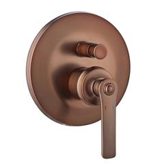 Смеситель встраиваемый на 2 потребителя Swedbe Terracotta Art 2517 фото