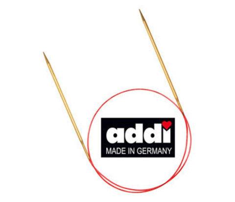 Спицы круговые с удлиненным кончиком, №5, 80см ADDI Германия арт.755-7/5-80