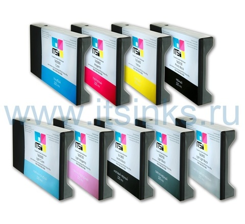 Комплект из 9 картриджей для Epson 7880/9880 9x220 мл
