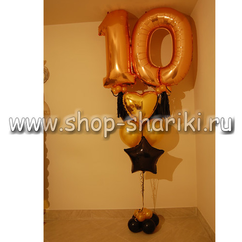 shop-shariki.ru фонтан из шаров на 10 лет