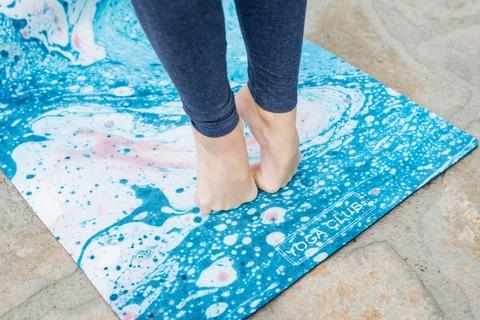Коврик для йоги Il Mare 183*61*0,3 см из микрофибры и каучука
