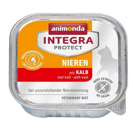 Animonda Integra Protect Cat (ламистер) Nieren (RENAL) with Veal