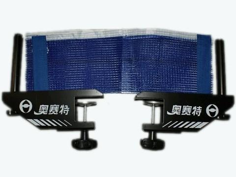 Сетка для н/т , синего цвета (с металлическими стойками в коробке). :(Р104):