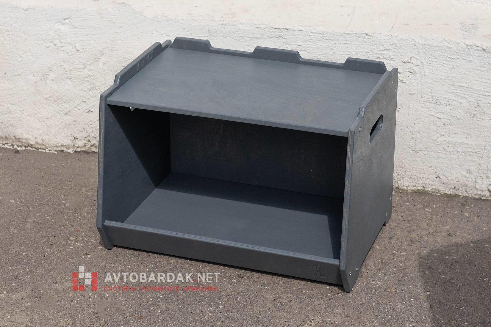 Деревянный ящик для инструментов + подставка + сидение