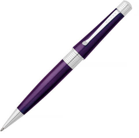Cross Beverly - Purple CT, шариковая ручка, M, BL123