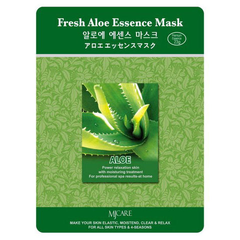 MIJIN Маска тканевая алоэ Fresh Aloe Essence Mask