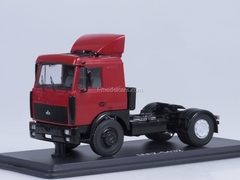 MAZ-5432 road tractor later with spoiler red Start Scale Models (SSM) 1:43