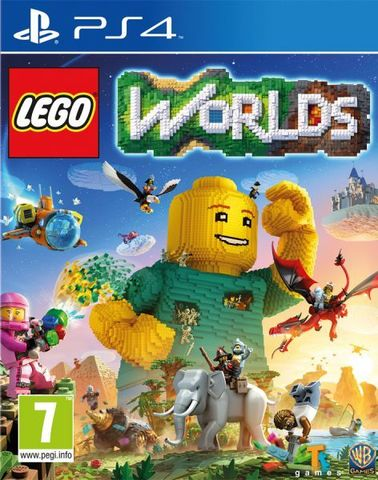 PS4 LEGO Worlds (русская версия)