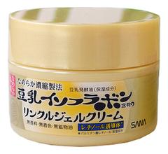 Крем-гель ночной для лица с изофлавонами сои 5 в 1 Soy Milk Gel Cream 100г