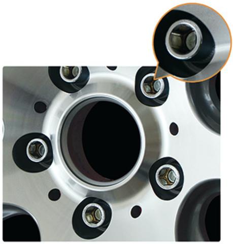 Болт колёсный М12x1.5 длина=28мм внутренний 6-гранник конус 60º хром