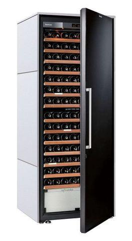 Винный шкаф EuroCave D Collection L белый хлопок, сплошная дверь, максимальная комплектация