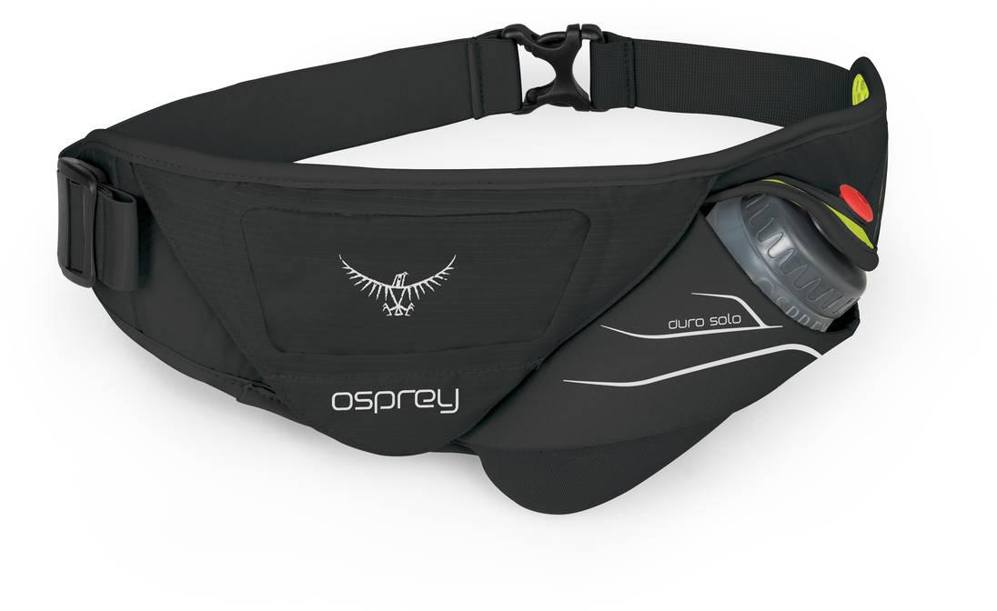 Рюкзаки для бега Сумка на пояс с флягой Osprey Duro Solo Belt для бега Duro_Solo_S17_Side_Electric_Black_web.jpg